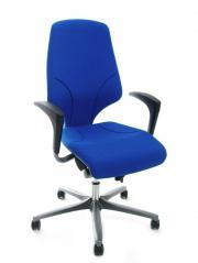 Drehstuhl 64-7578 von Giroflex in Blau