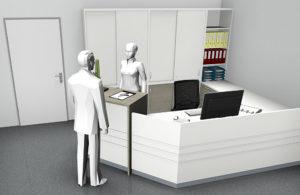 Arbeitsplatz individuell nach Kundenwunsch 55