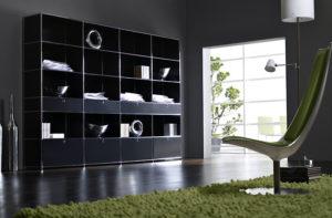 Möbelserie System 4 von Viasit – Bücherregal