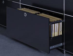 Möbelserie System 4 von Viasit – Schublade für Hängemappen