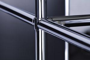 Viasit System 4 – Grundgerüst aus verchromten Stahl
